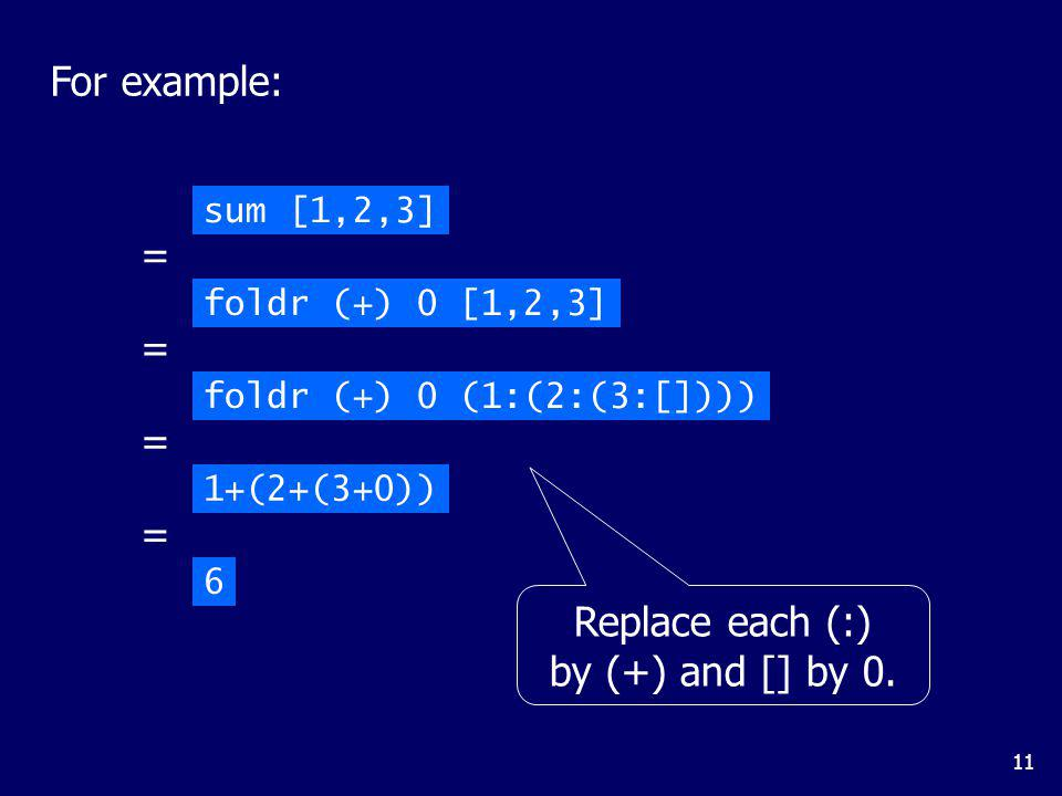 For example: = = = = Replace each (:) by (*) and [] by 1.